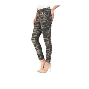 Military camouflage pants